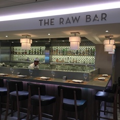 The Raw Bar on Norwegian Breakaway