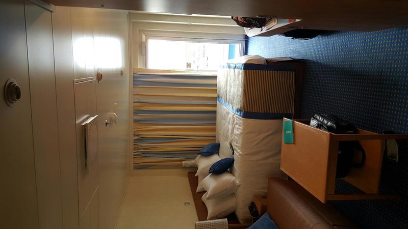 Balcony Cabin 10297 on Carnival Vista Category 8F