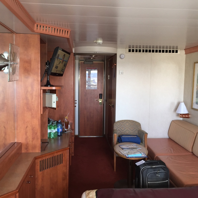 Balcony Cabin 7117 On Carnival Miracle Category 8d