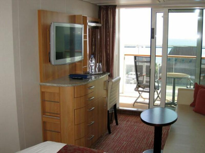 Balcony Cabin 7285 On Celebrity Equinox Category 2b