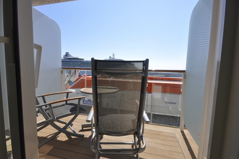 Celebrity cruises obstructed view balcony