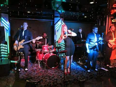 my favorite band on the ship think they were called the house band - Carnival Ecstasy