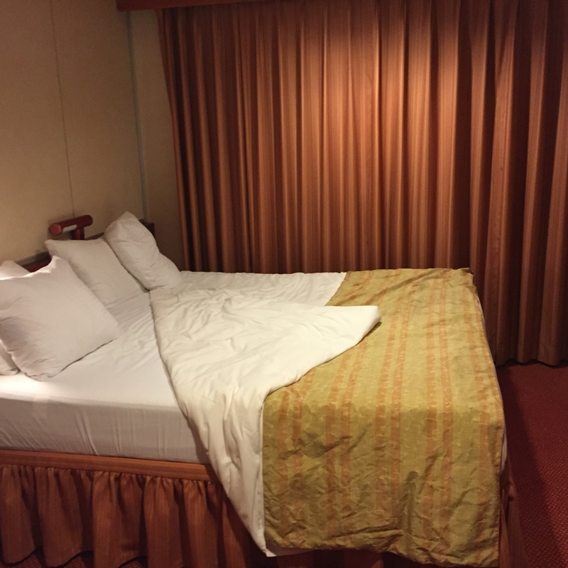 Private Balcony Stateroom on Carnival Fascination