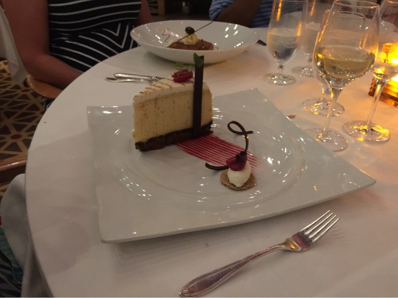 Cheesecake to die for!!!! - Carnival Pride