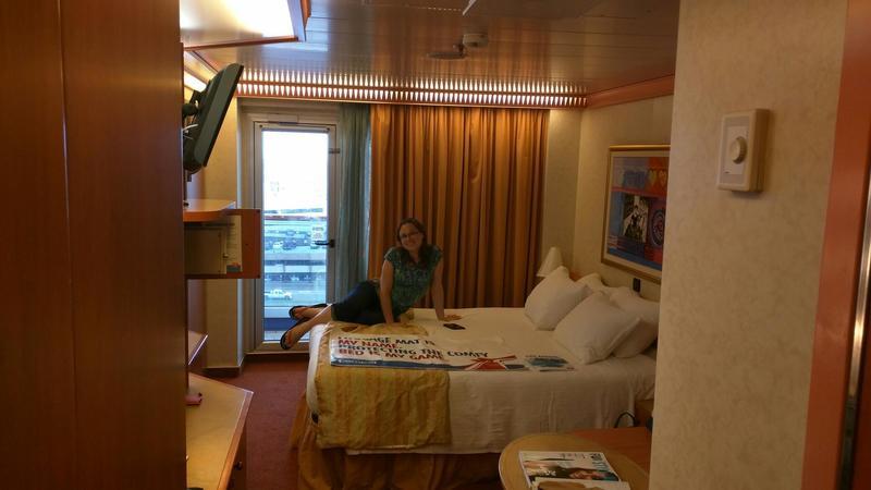 Carnival Liberty cabin 8421