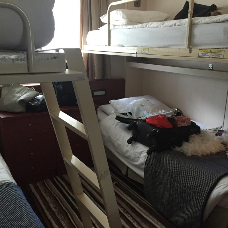 Pacific Dawn cabin 5117