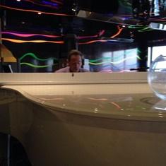 Duke''s Piano Bar on Carnival Elation