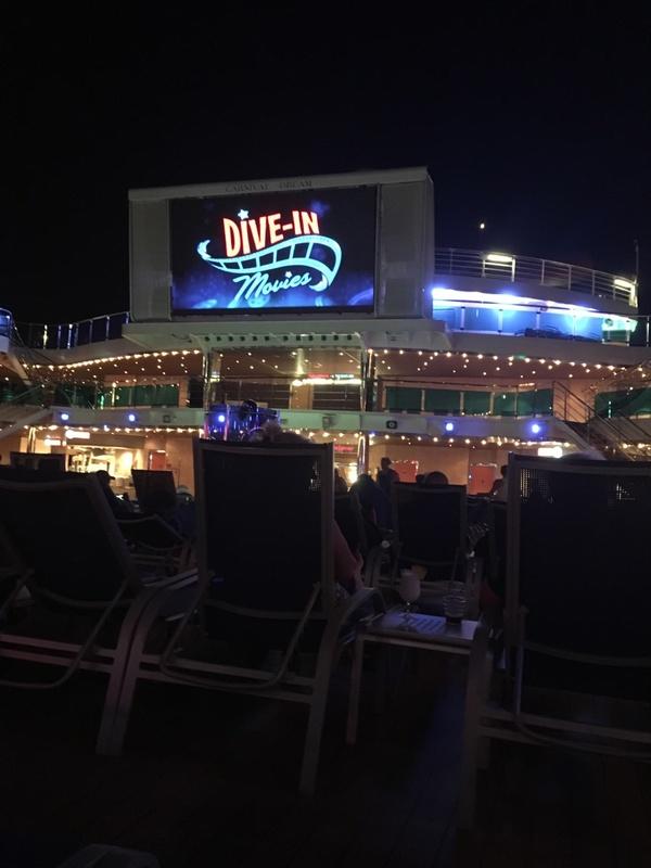 Outdoor Theatre - Carnival Dream