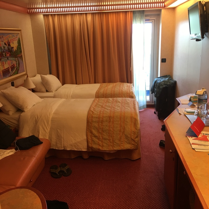 Carnival Splendor cabin 8300