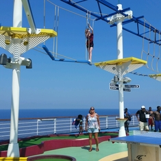 Fun Hub on Carnival Breeze