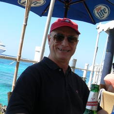 George Town, Grand Cayman - Chilling at Rackam's, Grand Cayman