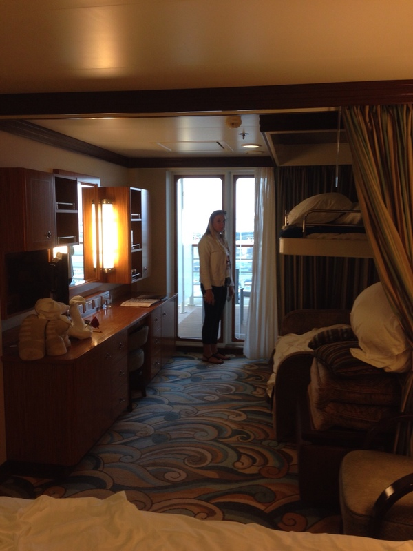 Concierge Family Oceanview Stateroom With Verandah Cabin