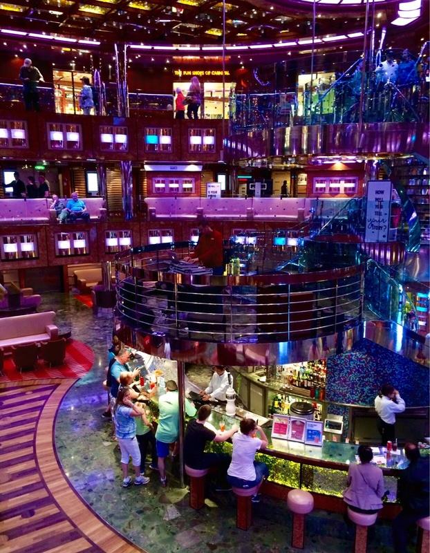 Carnival Dream, More Ship Features, Guest Services/Excursions Desk