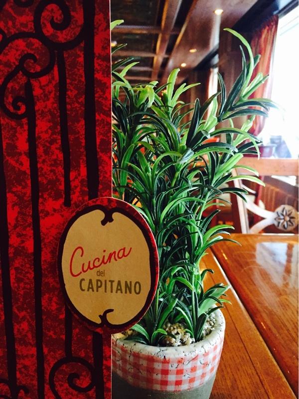 Cucina Del Capitano on Carnival Magic