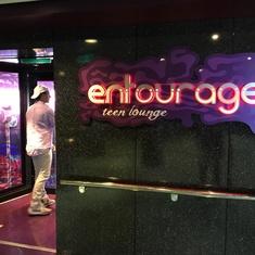 Entourage Teen Lounge on Norwegian Breakaway