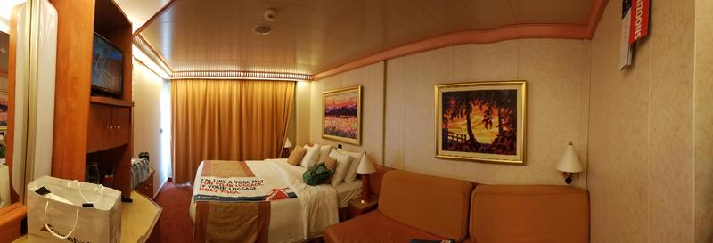 Balcony Cabin 6269 On Carnival Freedom Category 68