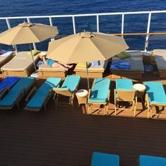 The Haven Private Sundeck on Norwegian Breakaway