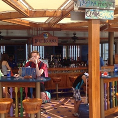 Blue Iguana Tequila Bar on Carnival Liberty