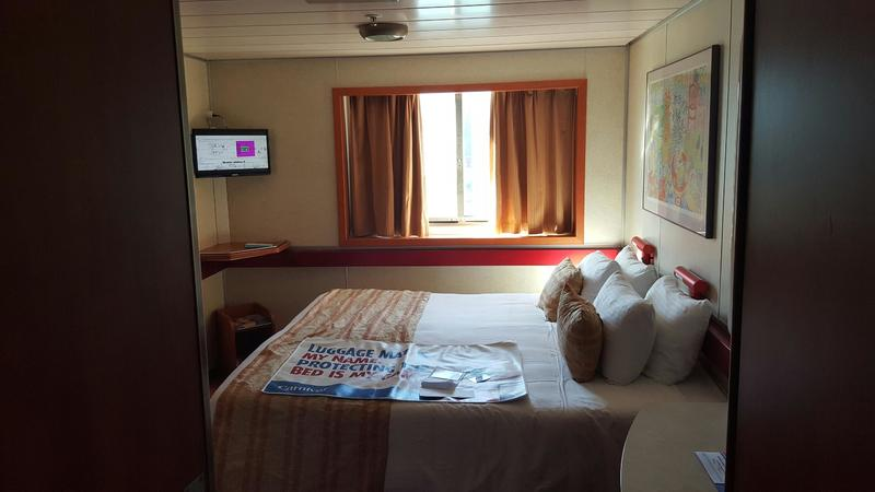 Oceanview Stateroom on Carnival Imagination