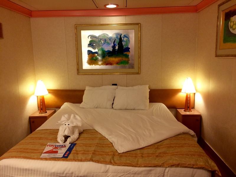 Carnival Conquest cabin 2337