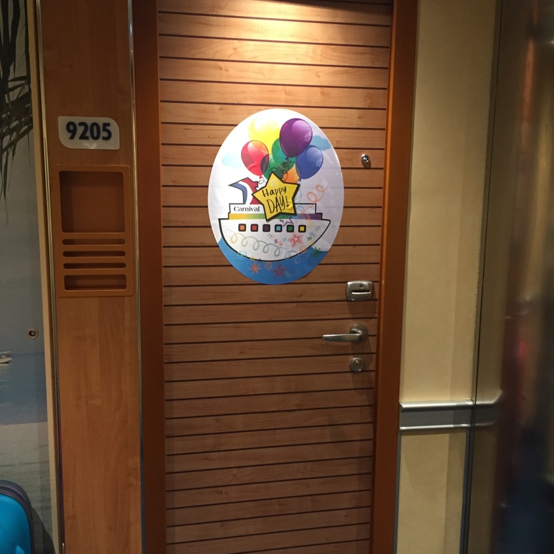Carnival Vista cabin 9206