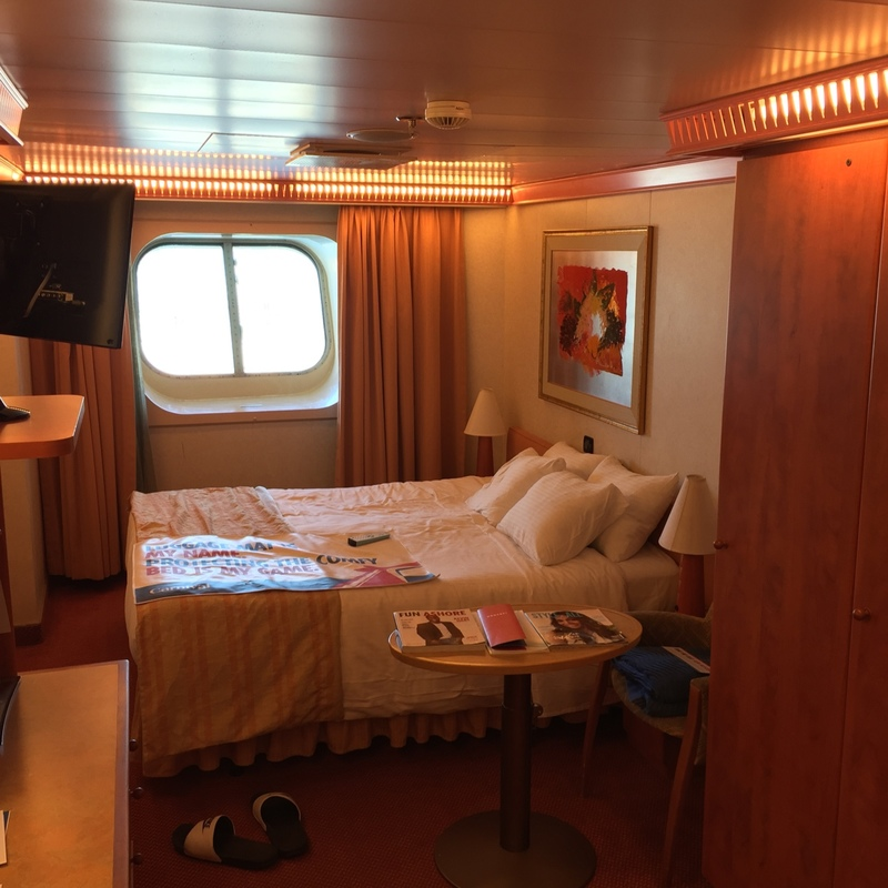 Oceanview Cabin 2483 On Carnival Conquest Category 6b