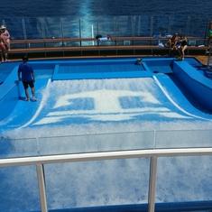 FlowRider on Ovation of the Seas