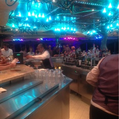 The Promenade Bar on Carnival Liberty