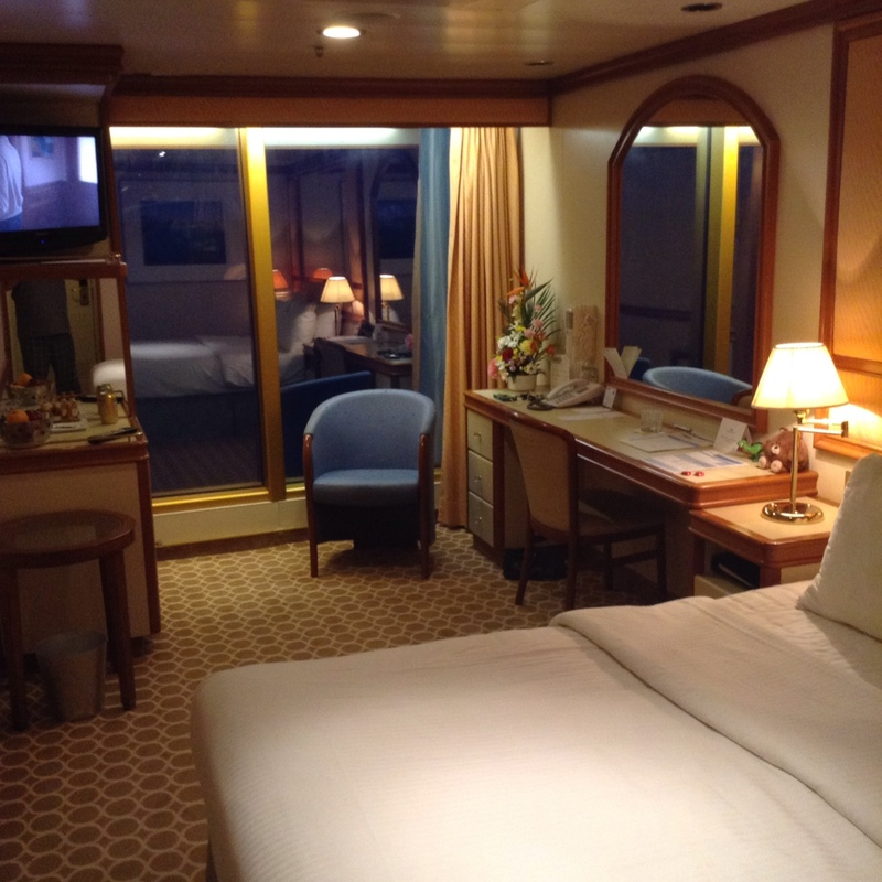 Premium Oceanview Stateroom on Grand Princess