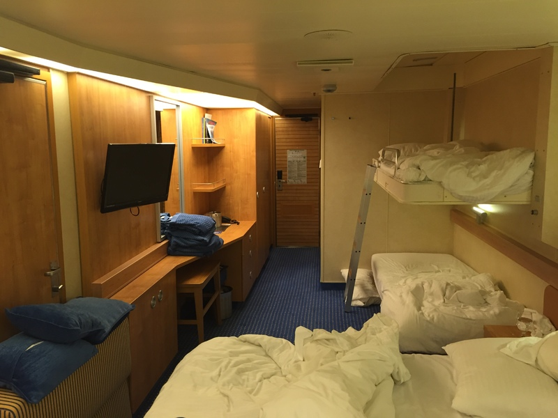 Oceanview Cabin 1488 On Carnival Sunshine Category 6b