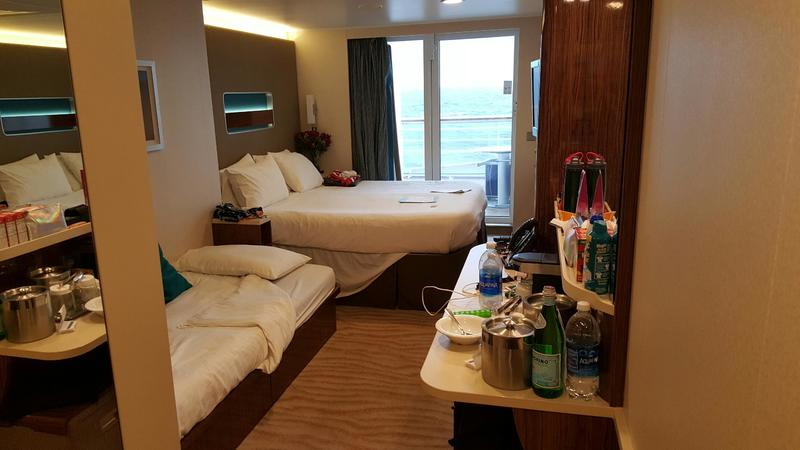 Balcony Cabin 8110 On Norwegian Breakaway Category Rz