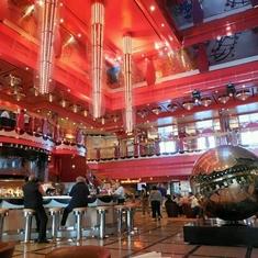 Atrium Bar on Costa Deliziosa