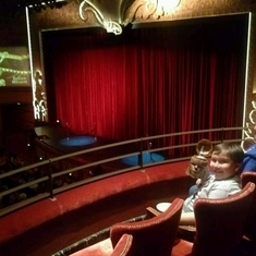 Walt Disney Theatre on Disney Dream