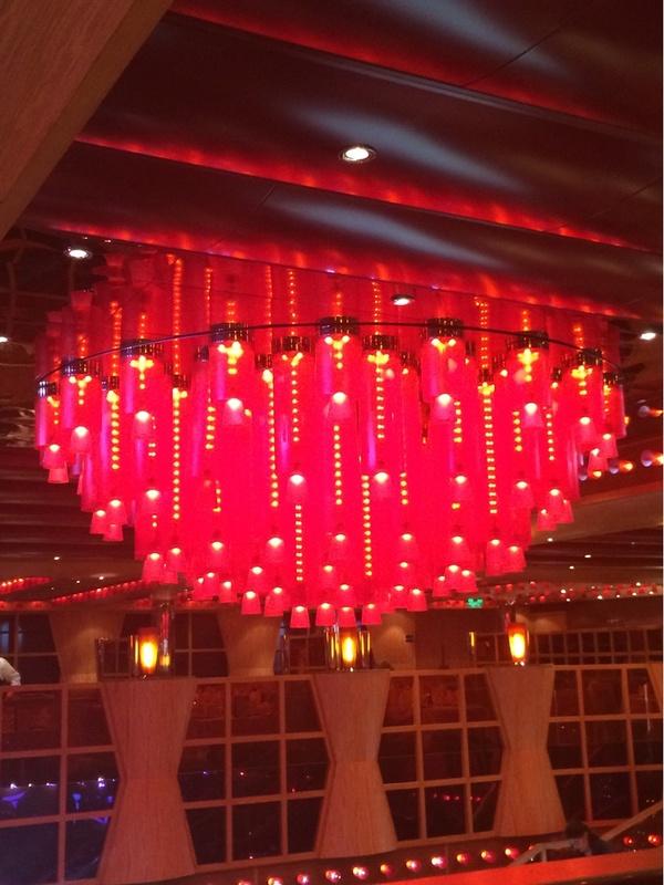 Carnival Dream, Dining, The Crimson Restaurant