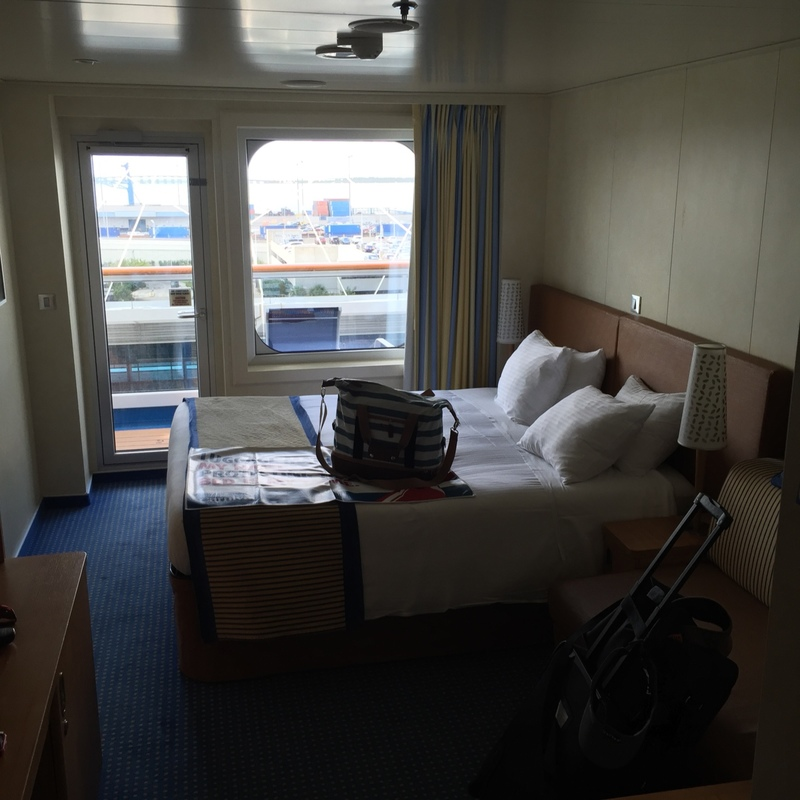 Balcony Cabin 7275 On Carnival Breeze Category 8c