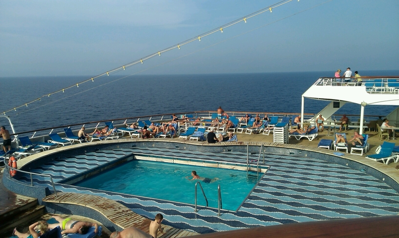Pool Bar on Thomson Dream