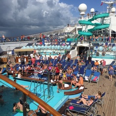 The Sun Pool on Carnival Conquest