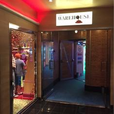 The Warehouse Video Arcade on Carnival Sunshine