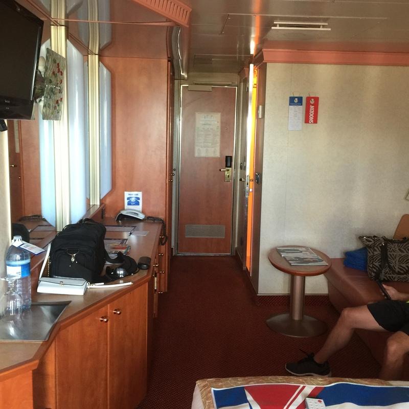 Carnival Splendor cabin 7258