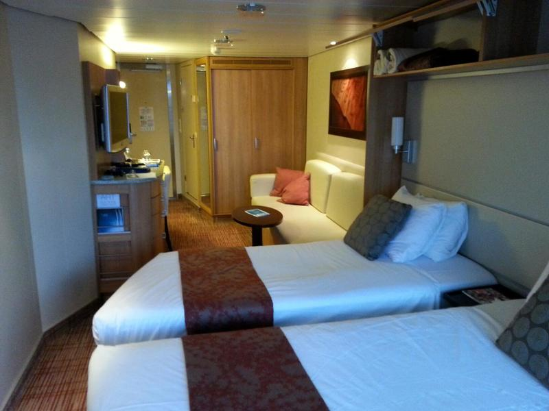 Deluxe Veranda Stateroom Cabin Category 1a Celebrity