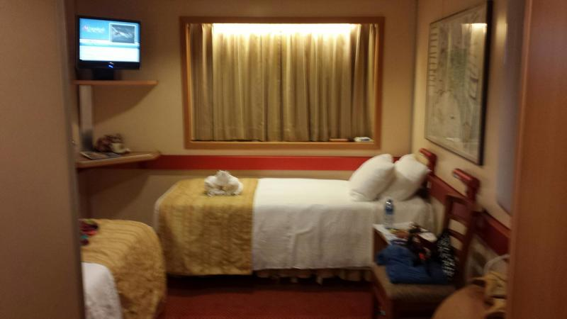 Inside Cabin M163 On Carnival Fantasy Category 4c