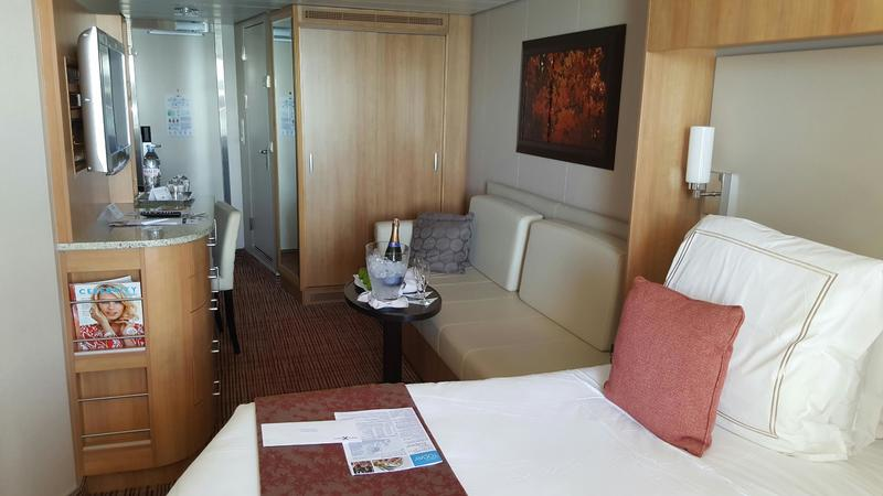 Family Veranda Stateroom 7107 Tour (Celebrity Reflection ...