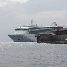 Willemstad, Curacao - Docked in Curacao
