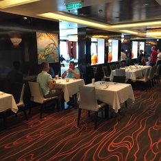 Savor Restaurant on Norwegian Breakaway